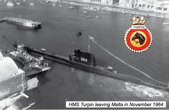 Turpin leaving Malta