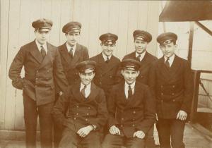 ERA Apprentice Classmates HMS FISGUARD 1929