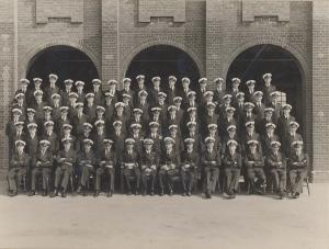 Passing Out HMS FISGAURD 1933