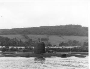 HMS Conqueror 1982