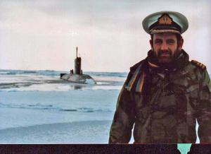Cdr Jeff Collins, CO HMS Superb
