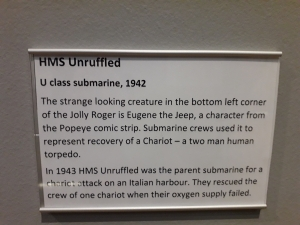 HMS UNRUFFLED- info