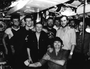 HMS OBERON 1986