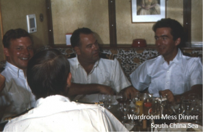 K Wardroom Mess Dinner - South China Sea