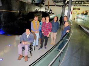 2019-04-06 006 RNSM - Visit by Lloyd-Williams Family