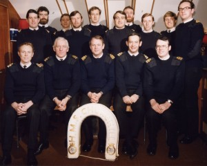 1983 The Officers of HMS Churchill
