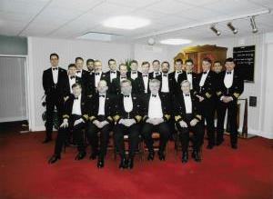 HMS COCHRANE Rosyth Submarine Enginners Dinner 1995