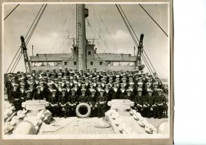 HMS MEDWAY at Shanghai 1936