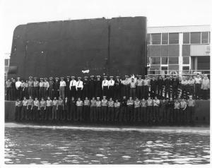 HMS OCELOT 1977