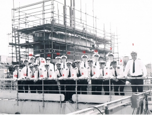 From Nick Crews RESOLUTION Officers in refit 1983-