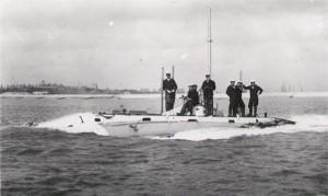 Holland 1 at sea
