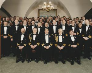 Submarine Command Dinner November 1996